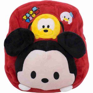 Mochila Infantil Mickey Tsum tsum Pelúcia - Disney