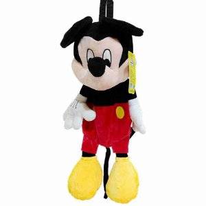 Mochila Pelúcia Mickey - Disney