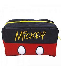 Necessaire Preto E Vermelho Mickey - Disney
