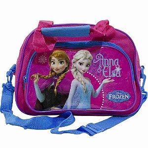 Bolsa De Viagem Rosa Anna & Elsa Frozen - Disney