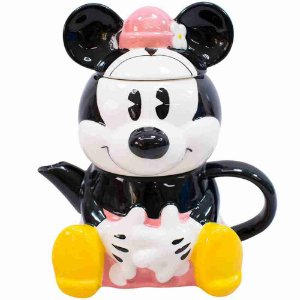 Bule 720ml Caneca 210ml Formato Minnie - Disney