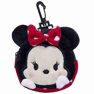 Porta Moeda Pelúcia Minnie Tsum Tsum - Disney