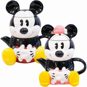 Jg. Bule 720 ml Caneca 210ml Formato Mickey Minnie - Disney