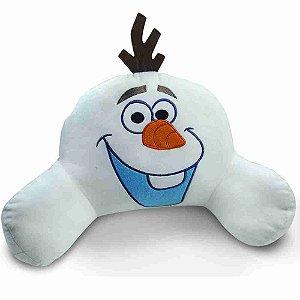 Almofada Encosto Olaf (Fibra) (Médio) Frozen - Disney