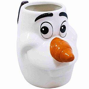 Caneca De Porcelana Rosto Olaf Frozen 280ml - Disney