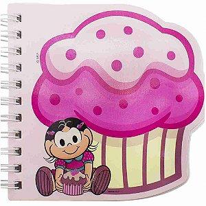 Caderneta Em Espiral Formato Cupcake Magali - Turma Da Mônica