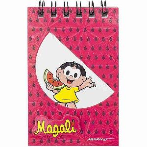 Caderneta Magali E Melancia 25 Folhas 6X9.5cm - Turma Da Mônica
