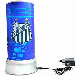 Luminária Giratória 3D - Santos