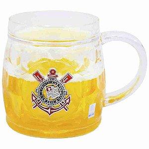 Caneca Cerveja Base Grossa 400ml - Corinthians