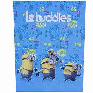 Álbum Azul Le Buddies 20 Folhas - Minions | Meu Malvado Favorito