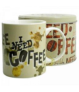 Caneca De Porcelana Na Lata Coffee 350ml - Minions | Meu Malvado Favorito