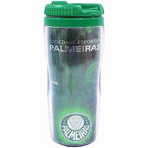 Copo Com Tampa 350ml - Palmeiras