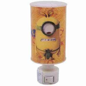 Abajur Luminária Cilíndrica Minions Blumock - Minions | Meu Malvado Favorito