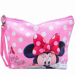 Necessaire Rosa Minnie 22x7x29cm - Disney