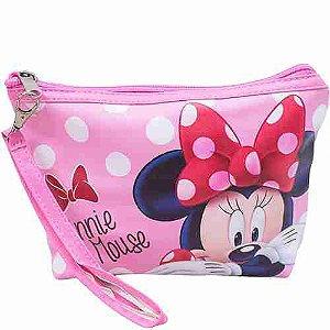 Necessaire Rosa Minnie 16x5x22cm - Disney