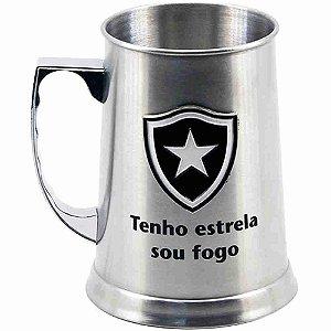 Caneca Inox Chopp 420ml - Botafogo