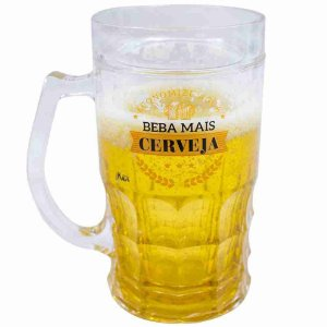 Caneca Beba Mais Cerveja 400ml - Projeto Kiwi