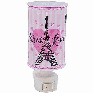 Luminária Abajur Paris Love - Projeto Kiwi