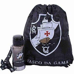 Garrafa 500ml Com Mochila Tipo Saco - Vasco