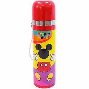 Garrafa Térmica Formato Mickey 500ml 90 Anos - Disney