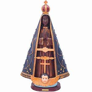 Nossa Senhora Aparecida 51cm - Enfeite Resina