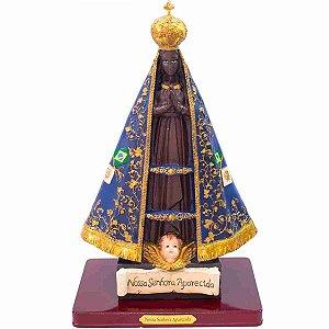 Nossa Senhora Aparecida 47cm - Enfeite Resina