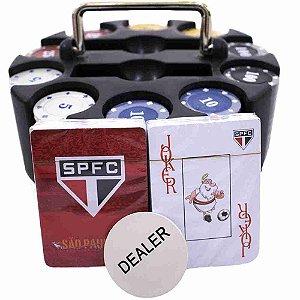 Jogo De Poker 200 Fichas E Baralhos - São Paulo SPFC