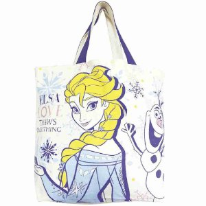 Bolsa Shopping Bag Elsa & Olaf Frozen - Disney