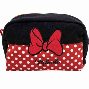 Necessaire Minnie Laço 12X18cm - Disney