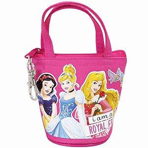 Chaveiro Porta Moeda Princesas - Disney