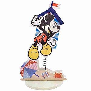 Porta Recado Mickey Praia - Disney