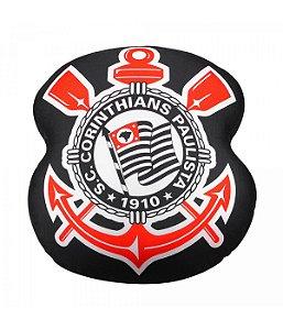Almofada Em Forma De Brasão (Isopor) - Corinthians
