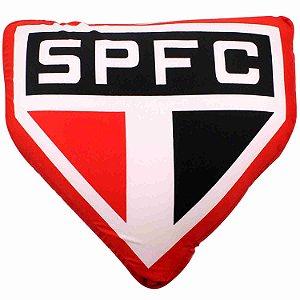 Almofada Em Forma De Brasão (Isopor) - São Paulo SPFC