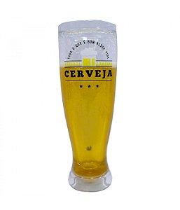 Copo Aprendi Tomando Cerveja 480ml - Projeto Kiwi