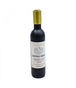 Saca Rolhas Formato Garrafa Vinho Lacre Dourado