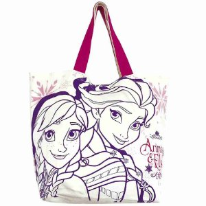Bolsa Shopping Bag Anna & Elsa Frozen - Disney