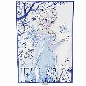 Adesivo Decorativo 3D Com Gancho Elsa Frozen - Disney