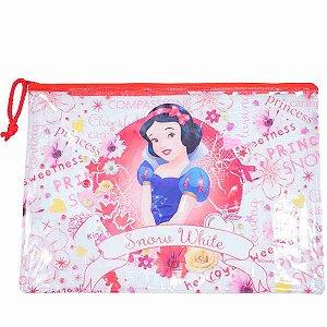 Pasta Necessaire Princesa Branca De Neve 23X33cm - Disney
