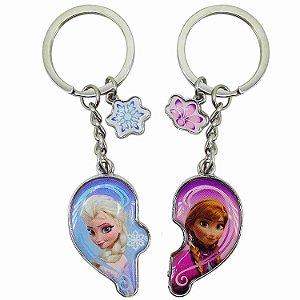 Chaveiro Anna & Elsa Frozen - Disney