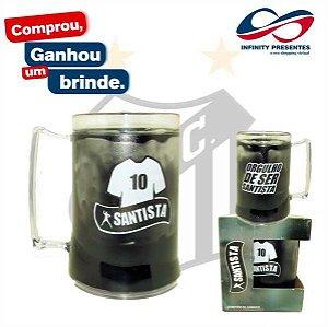Caneca Gel 450ml - Torcedor Santista