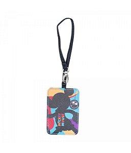 Etiqueta Para Bagagem Sombra Mickey 10.5x7cm 90 Anos - Disney