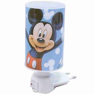 Luminária Abajur Azul Mickey - Disney
