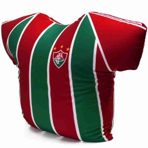 Almofada Camisa Time (Isopor) - Fluminense