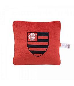 Almofada Quadrada (Fibra) - Flamengo