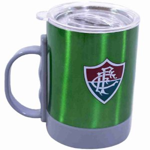 Caneca De Inox Com Tampa 350ml - Fluminense