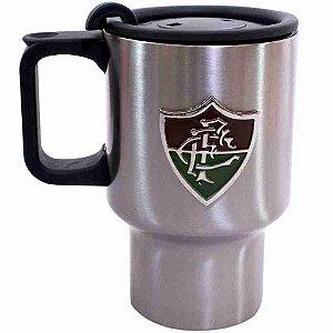 Caneca De Inox Corpo Engorgado 410ml - Fluminense