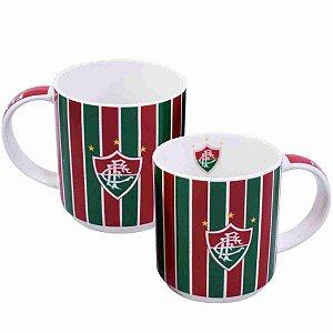 Jg Com 2 Canecas De Porcelana 270ml - Fluminense