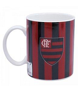 Caneca Porcelana 370ml - Flamengo