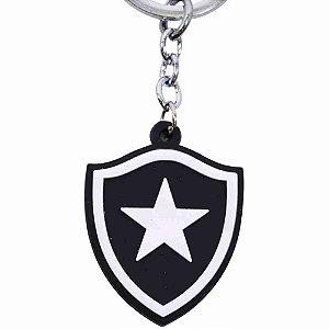 Chaveiro De Metal Com Brasão De Time - Botafogo