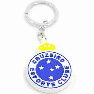 Chaveiro De Borracha Com Brasão De Time - Cruzeiro